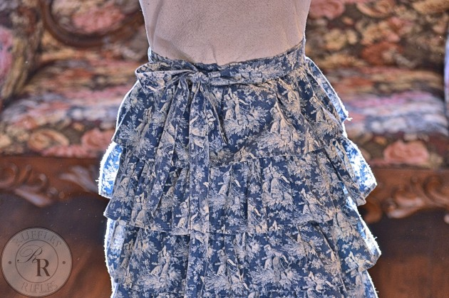 Ruffles Defined Apron