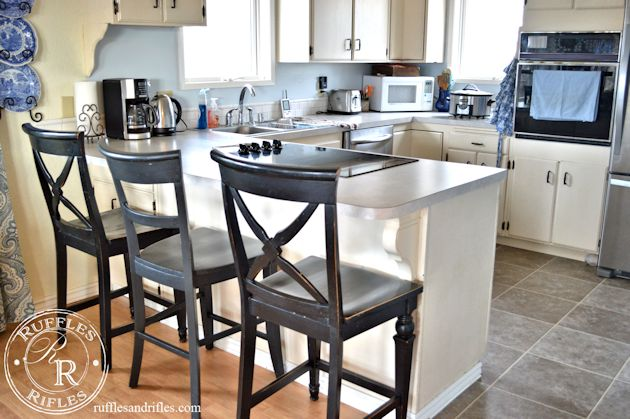 Furniture reveal the new barstools for Dining room sets with matching bar stools