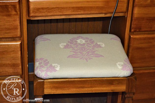 STool Reupholstery 13