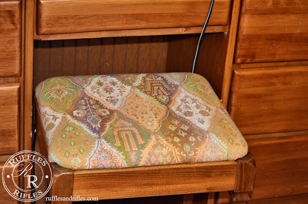 Stool Reupholstery 2