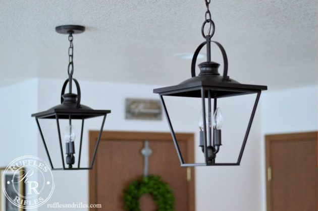 Farmhouse Pendant and Recessed Lights & Farmhouse Kitchen Light Reveal