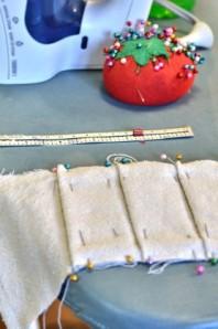 Recreate: An Ottoman Slipcover Tutorial