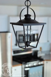 Why the Farmhouse Revival? and New Farmhouse-Lantern Style Pendants in the Kitchen