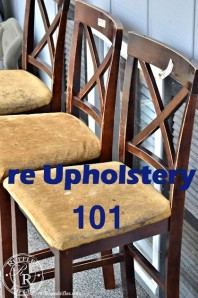 re Upholstery 101
